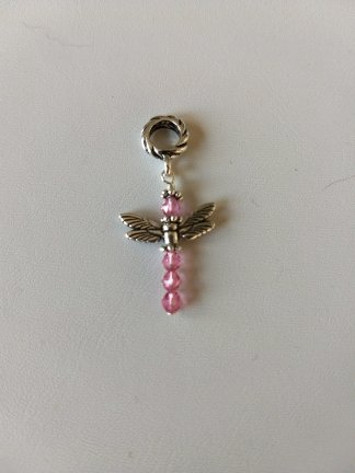 Dragonfly Crystal Pendant