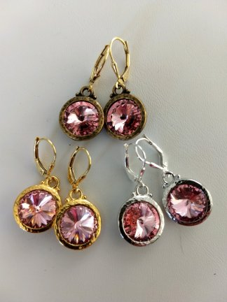 Swarovski Stone Drop Earrings