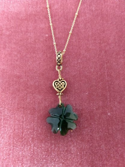 Swarovski Crystal clover