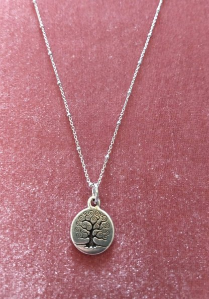 Tree of Life on Sterling Chain
