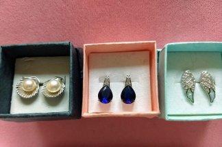 Sterling Silver stud earrings $25