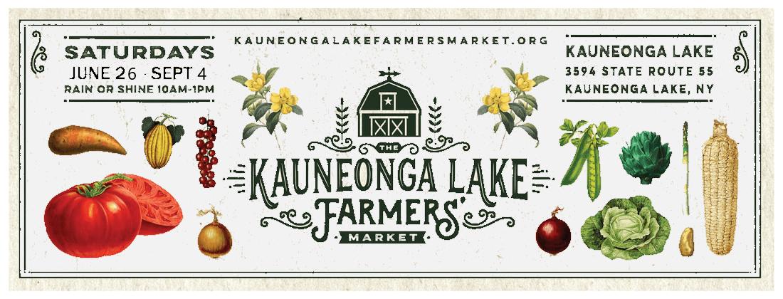 Kauneonga Lake Farmers Market banner ad